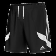 Dove Holes CC Adidas Black Junior Training Shorts