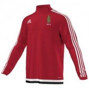 Alne CC Adidas Red Junior Training Top