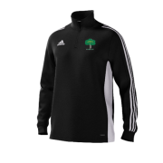 Hillam & Monk Fryston CC Adidas Black Training Top