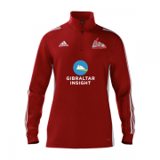 Gibraltar CC Adidas Red Training Top