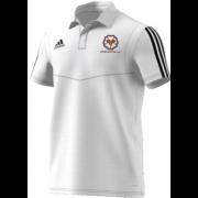 Upper Hopton CC Adidas White Polo