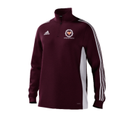 Upper Hopton CC Adidas Maroon Junior Training Top