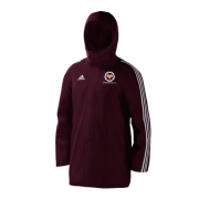 Upper Hopton Cricket Club Maroon Adidas Stadium Jacket