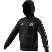 Upper Hopton CC Adidas Black Junior Fleece Hoody