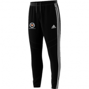 Upper Hopton CC Adidas Black Training Pants