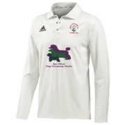 West Hallam White Rose CC Adidas Elite L/S Playing Shirt