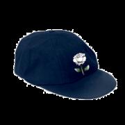 West Hallam White Rose CC Navy Baggy Cap