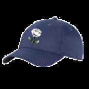 West Hallam White Rose CC Navy Baseball Cap