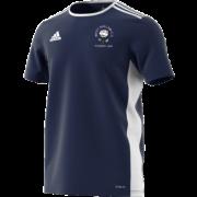 West Hallam White Rose CC Adidas Navy Junior Training Jersey