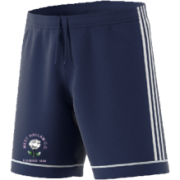 West Hallam White Rose CC Adidas Navy Junior Training Shorts