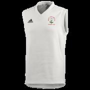 West Hallam White Rose CC Adidas Junior Playing Sweater