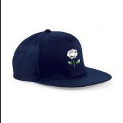 West Hallam White Rose CC Navy Snapback Hat