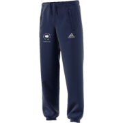 West Hallam White Rose CC Adidas Navy Sweat Pants