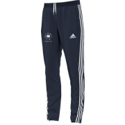 West Hallam White Rose CC Adidas Junior Navy Training Pants