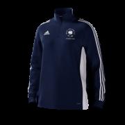 West Hallam White Rose CC Adidas Navy Junior Training Top