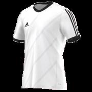 Dove Holes CC Adidas White Junior Training Jersey