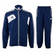 Adidas Blue/White Tracksuit