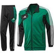 Adidas Green/Black Presentation Tracksuit