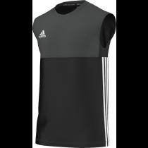Luton Town & Indians CC Adidas Black Training Vest