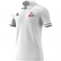 Luton Town & Indians CC Adidas White Polo