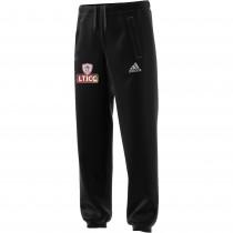 Luton Town & Indians CC Adidas Black Sweat Pants