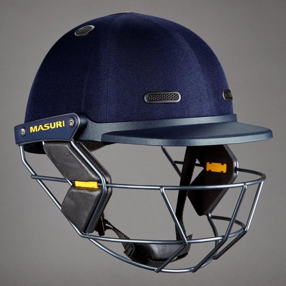 2019 Masuri Vision Series Test Junior Cricket Helmet
