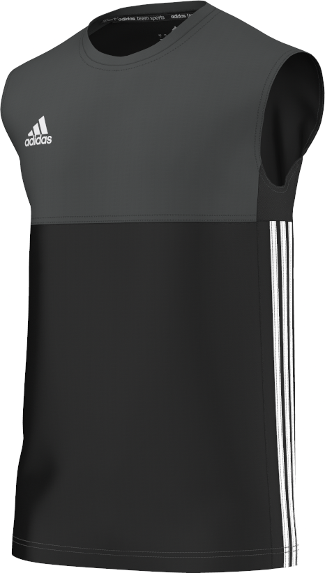 Uffington CC Adidas Black Training Vest