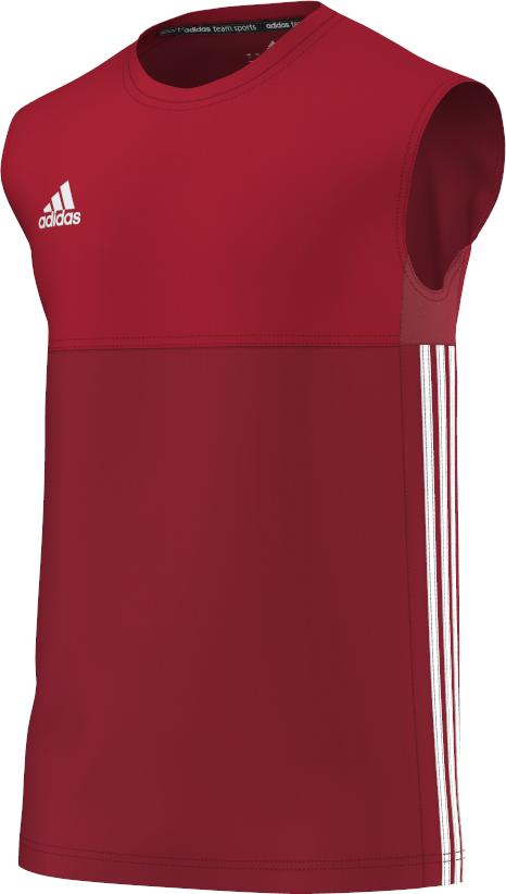 Churchtown CC Adidas Red Training Vest
