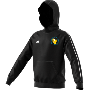 Aston Manor CC Adidas Black Junior Fleece Hoody