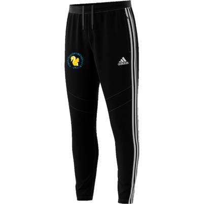 Aston Manor CC Adidas Black Junior Training Pants
