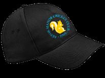 Aston Manor CC Black Baseball Cap