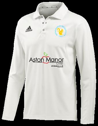Aston Manor CC Adidas Elite L/S Playing Shirt