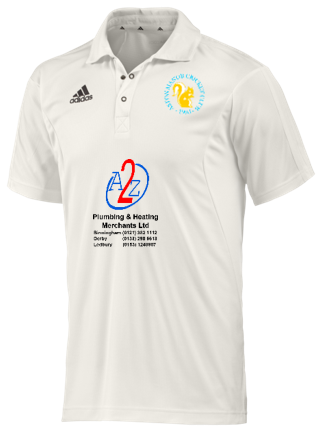 Aston Manor CC Adidas Elite Junior Playing Shirt