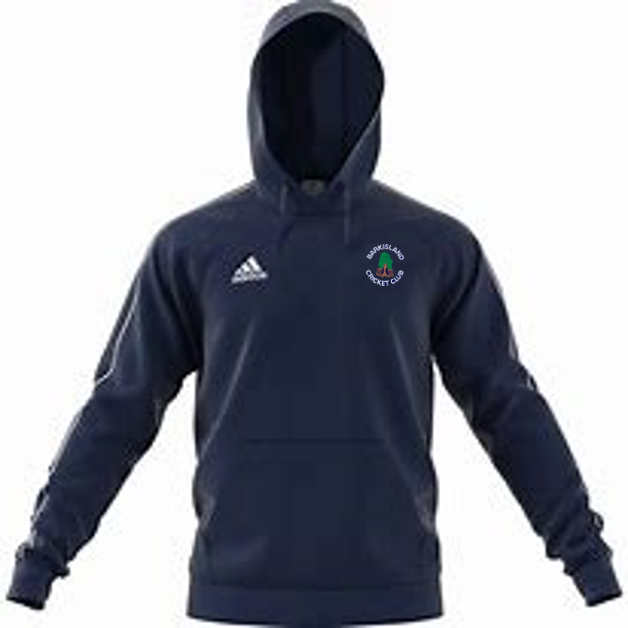 Barkisland CC Adidas Navy Fleece Hoody