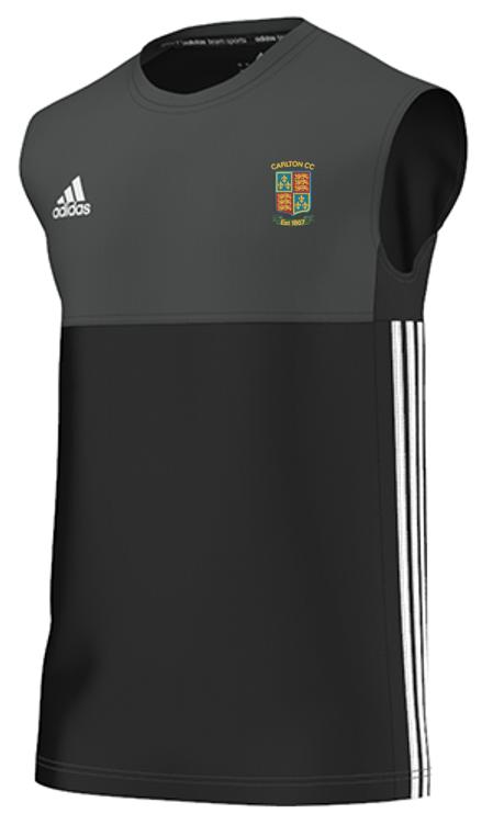 Carlton CC Adidas Black Training Vest