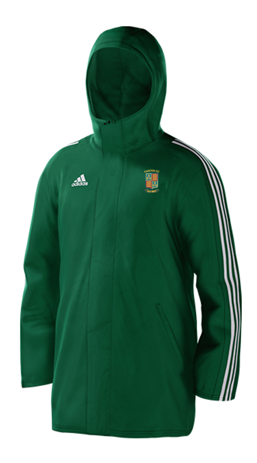 Carlton CC Green Adidas Stadium Jacket