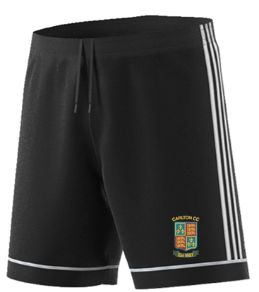Carlton CC Adidas Black Training Shorts
