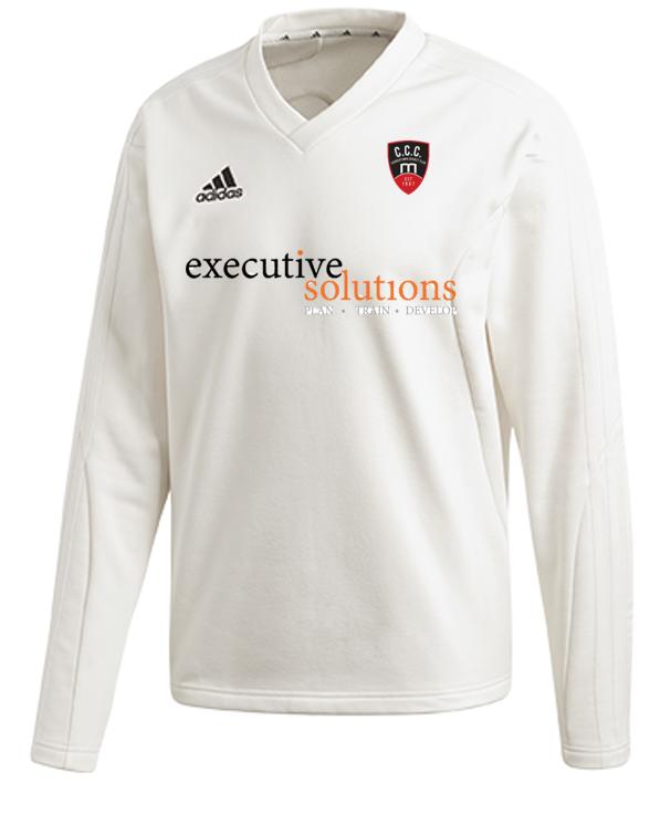 Churchtown CC Adidas Elite Long Sleeve Sweater