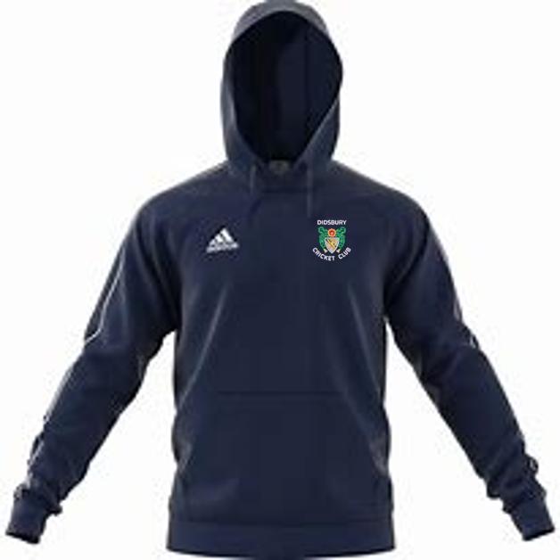 Didsbury CC Adidas Navy Fleece Hoody
