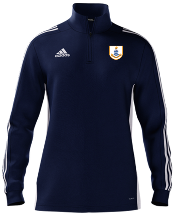 Goldsborough CC Adidas Navy Zip Training Top