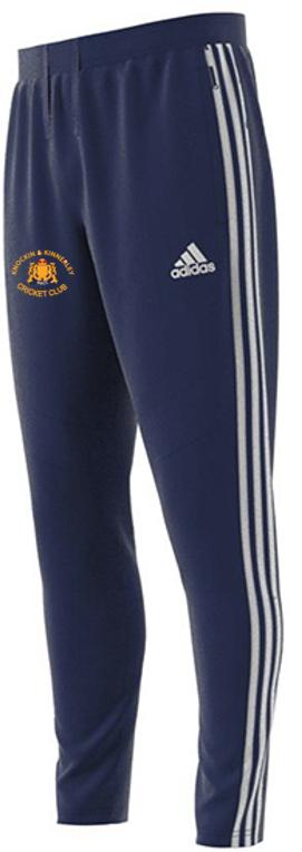 Knockin and Kinnerley CC Adidas Navy Training Pants