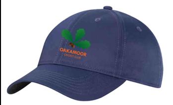 Oakamoor CC Navy Baseball Cap
