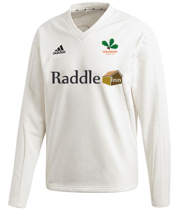 Oakamoor CC Adidas Elite Long Sleeve Sweater