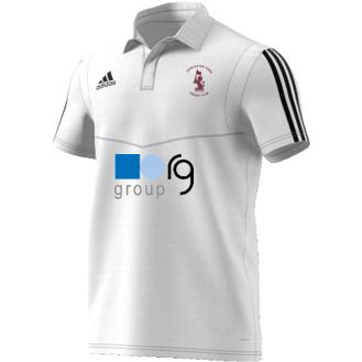 Doncaster Town CC Adidas White Polo