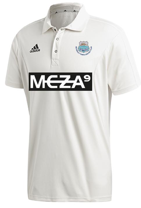 Beverley Town CC Adidas Elite Short Sleeve Shirt