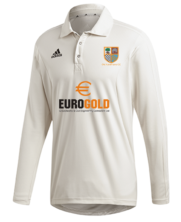 Old Xaverians CC Adidas Elite Long Sleeve Shirt