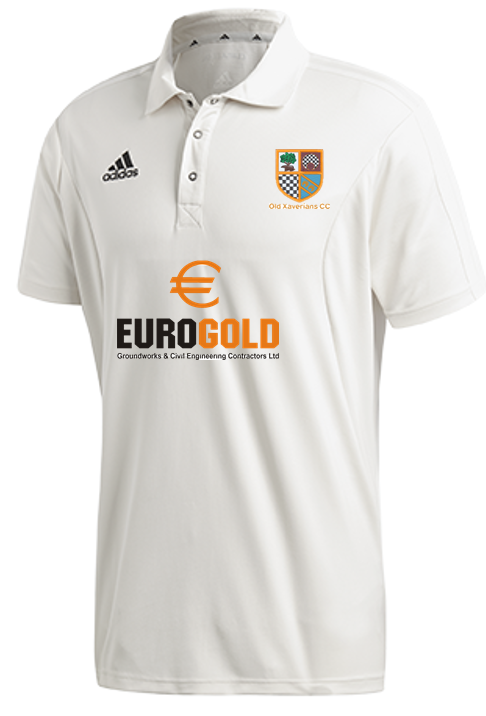 Old Xaverians CC Adidas Elite Short Sleeve Shirt