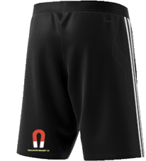 Tadcaster Magnet CC Adidas Black Junior Training Shorts