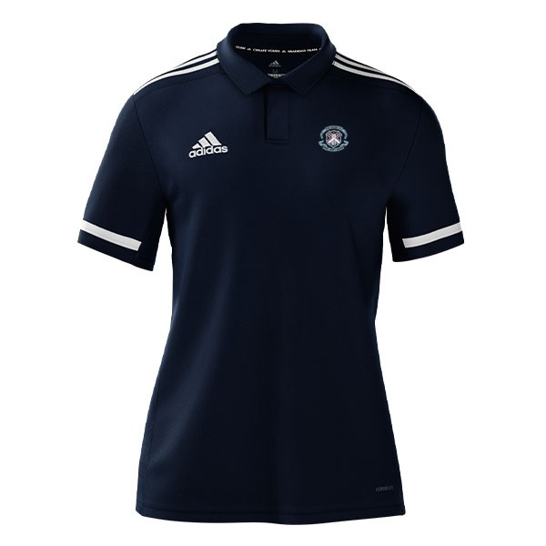 Kelburne CC Adidas Navy Polo