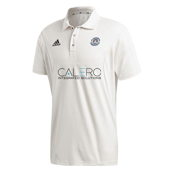Kelburne CC Adidas Elite Junior Short Sleeve Shirt
